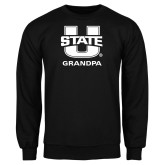 Black Fleece Crew-Grandpa