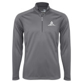 Syntrel Platinum Interlock 1/4 Zip-University Mark Stacked