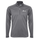 Syntrel Platinum Interlock 1/4 Zip-University Mark Horizontal