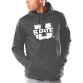 Under Armour Carbon Armour Fleece Hoodie-Primary Mark Athletics