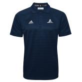 Adidas Climalite Navy Jacquard Select Polo-University Mark Stacked