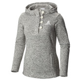 Columbia Ladies Darling Days Sea Salt Pullover-University Mark Stacked