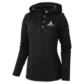 Columbia Ladies Darling Days Black Pullover-University Mark Stacked