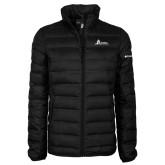 Columbia Lake 22 Ladies Black Jacket-University Mark Horizontal