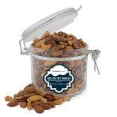Deluxe Nut Medley Round Canister-University Wordmark Flat