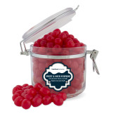 Sweet & Sour Cherry Surprise Round Canister-University Wordmark Flat