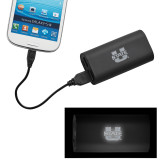 LIGHT UP LOGO Power Bank-Primary Mark Athletics Engraved