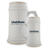 Full Color Decorative Ceramic Mug 22oz-University Wordmark