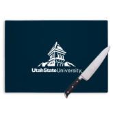 Cutting Board-University Mark Stacked