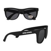Black Sunglasses-Wordmark Athletics