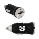 On the Go Black Car Charger-Primary Mark Athletics