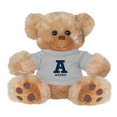 Plush Big Paw 8 1/2 inch Brown Bear w/Grey Shirt-A Aggies