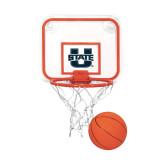 Mini Basketball & Hoop Set-Primary Mark Athletics