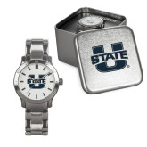 Mens Stainless Steel Fashion Watch-Primary Mark Athletics
