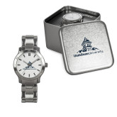 Ladies Stainless Steel Fashion Watch-University Mark Stacked