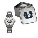 Ladies Stainless Steel Fashion Watch-Primary Mark Athletics
