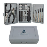 Compact 26 Piece Deluxe Tool Kit-University Mark Stacked