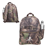 Heritage Supply Camo Computer Backpack-University Mark Stacked