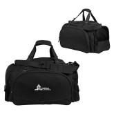 Challenger Team Black Sport Bag-University Mark Horizontal