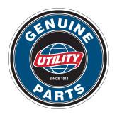 Medium Decal-Genuine Parts, 7 inches wide