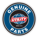 Large Decal-Genuine Parts, 8.5 inches wide