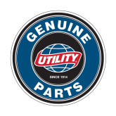 Small Decal-Genuine Parts, 5 inches wide