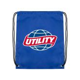 Royal Drawstring Backpack-Utility