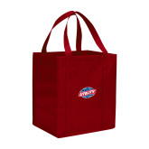 Non Woven Red Grocery Tote-Utility