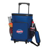 30 Can Blue Rolling Cooler Bag-Utility