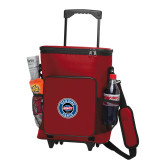 30 Can Red Rolling Cooler Bag-Genuine Parts