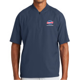 New Era Navy Cage Short Sleeve 1/4 Zip-Utility, Personalized