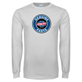 White Long Sleeve T Shirt-Genuine Parts