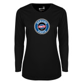 Ladies Syntrel Performance Black Longsleeve Shirt-Genuine Parts