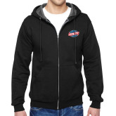 Black Fleece Full Zip Hoodie-Utility