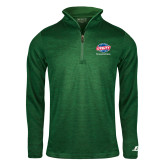 Russell Dark Green Heather 1/4 Zip-Utility, Personalized