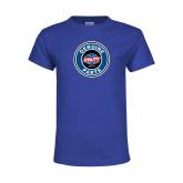 Youth Royal T Shirt-Genuine Parts