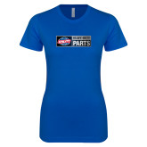 Next Level Ladies SoftStyle Junior Fitted Royal Tee-Heavy Duty Parts Horizontal