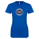 Next Level Ladies SoftStyle Junior Fitted Royal Tee-Genuine Parts