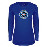 Ladies Syntrel Performance Royal Longsleeve Shirt-Genuine Parts