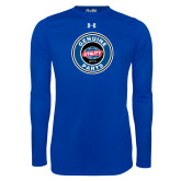 Under Armour Royal Long Sleeve Tech Tee-Genuine Parts