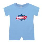 Light Blue Infant Romper-Utility