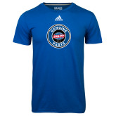 Adidas Climalite Royal Ultimate Performance Tee-Genuine Parts