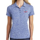 Ladies Royal Electric Heather Polo-Utility
