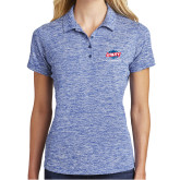 Ladies Royal Electric Heather Polo-Utility, Personalized