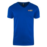 Next Level V Neck Royal T Shirt-Heavy Duty Parts Horizontal