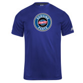 Russell Core Performance Royal Tee-Genuine Parts