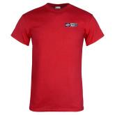 Red T Shirt-Heavy Duty Parts Horizontal