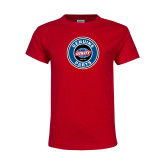 Youth Red T Shirt-Genuine Parts