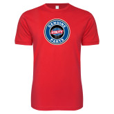 Next Level SoftStyle Red T Shirt-Genuine Parts