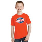 Youth Orange T Shirt-Utility